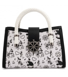 BOLSO STEAMBOAT WILLIE DISNEY LOUNGEFLY