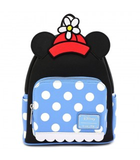 MOCHILA POSITIVELY MINNIE POLKA DISNEY LOUNGEFLY
