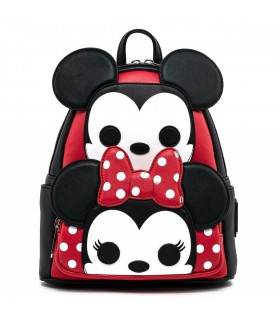 MOCHILA MICKEY Y MINNIE POP DISNEY LOUNGEFLY