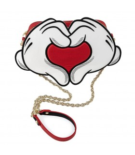 BOLSO HEART HANDS MICKEY DISNEY LOUNGEFLY