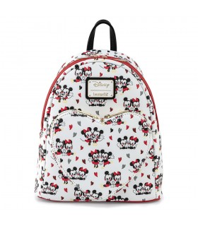 MOCHILA MICKEY & MINNIE SAN VALENTIN DISNEY LOUNGEFLY